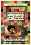 Techno Color Flyer by dubsbhoy