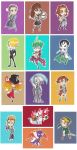 Christmas Chibi Collection 2012 by CamishCD
