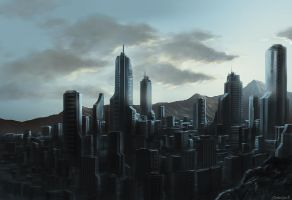 Cityscape concept by OuterKast