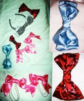 My Hand-Made Bows by ilostmyheart