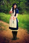 Cosplay - Alice: Madness Returns (Red Rose) by case15