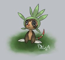 Chespin by delgalessio