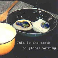 Earth on Global Warming by ClimateChangeArtists