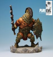 Damocles the Defiler Painted by PureEvilMiniatures