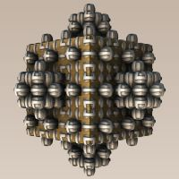 Hungry Magnetic Menger by mario837
