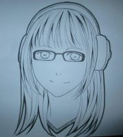 Me in manga style drawing by CRINS by xxkillergirl777xx