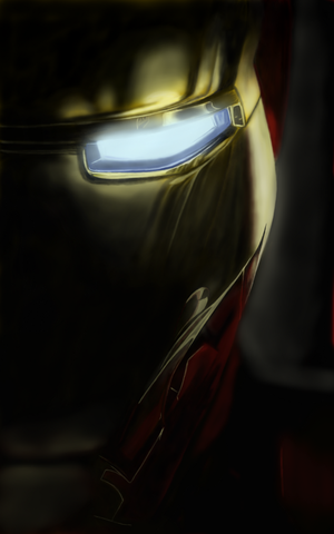 Iron Man by NateK85