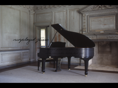 Unplayed Piano by guardianangelz