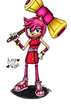 Sonic Boom Amy by IronKitty9000