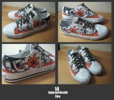 Customised Sneakers 14.1 by injuryordeath