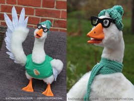 Bruce the Goose by Creature-Cave