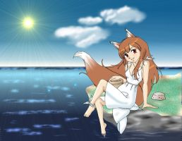 Horo in the Summer by GlyphBellchime
