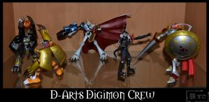 Figure 53 - D-Arts Digimon Crew by Oukami-SuGo