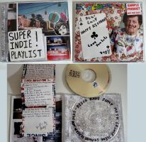 Super Indie Playlist CD by alice-anesthetic