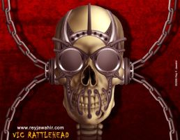 Vic Rattlehead 1- Reyjking1 by reyjdesigns