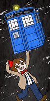 Doctor Who Bookmark by timehwimeh