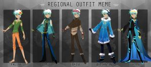 RC Regional Outfits by eyugho