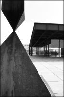 Neue Nationalgalerie by Kahluacream