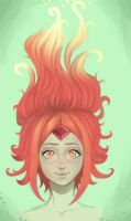 adventure time - flame princess by edelea