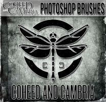 Coheed and Cambria Photoshop Brushes by NeverenderDesign