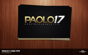 PAOLO17 LOGO by BAS-design