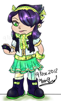 Sugar Rush Racer Puckette Sourstein by Twin-Divinity