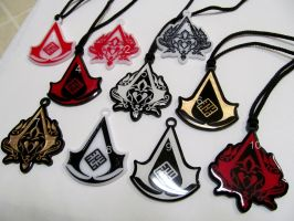 ACR Pendants by fevereon