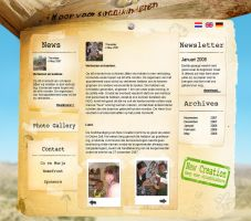 Web interfaces New Creation by henkiehendrik