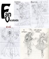 Fan Vocaloids dump by InYuJi