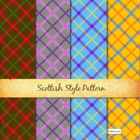 Scottish Style Pattern by oxanaart