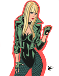 Black Canary by JustinCoffee