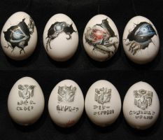 Transformer Easter Eggs by PGwainbenn