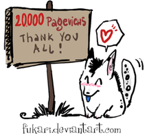 20000 pageviews by Fukari
