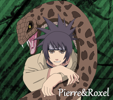 Anko Mitarashi with hebi 2 by PierreAndRoxel