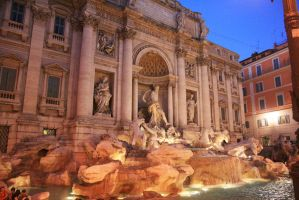 Trevi Fountain by lianne123