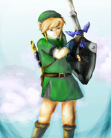 Skyward sword by RayCrystal