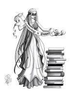 Knowledge is Power by Aphilien
