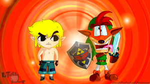 The Bandicoot of Zelda by LeTourbillonEnchanT