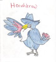 Honchkrow by RoXoS92