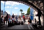 Paris Plage  s Puppeter by Simounet