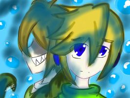 We've met again.... (Ben Drowned) by SunnySunshine203