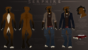 Serph's Anthro Reference 2012. by Serphire