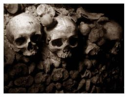 Catacombes of Paris by BourbonInYourEyes
