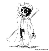Gambit Calavera by thesometimers