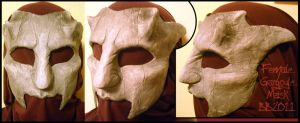 Female Gargoyle Mask by Magpieb0nes
