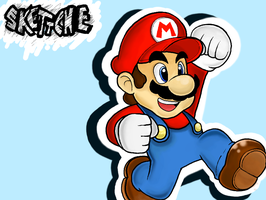 Super Mario by Skettche