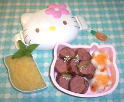 bento: 1st rice shapes by LaFoi