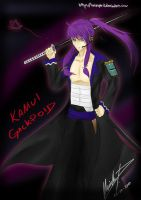 Vocaloid - Kamui Gackpoid by talespirit