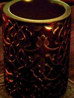 Red-Gold Candle1 by effing-stock