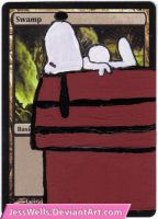 Altered Magic Card: Snoopy by JessWells
